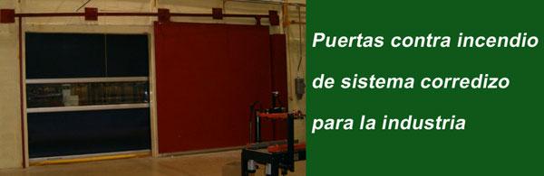 Puertas contra incendio adr arquitectura integral s a for Puertas contra incendios